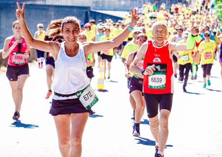 Бягане за всеки; Маратон