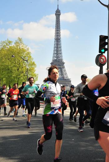 Даниела Манева, маратон Париж 2019