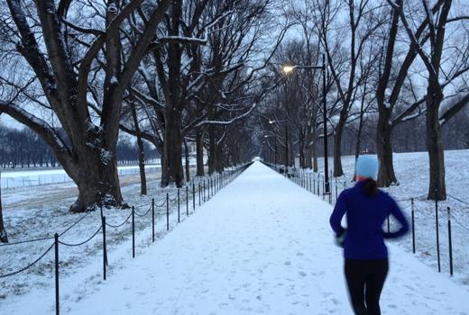 Бягане в зимни условия