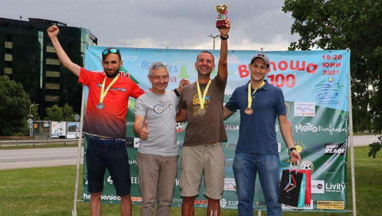 Калоян Чанев, победител в дуатлон на Витоша 100, 2021 г.