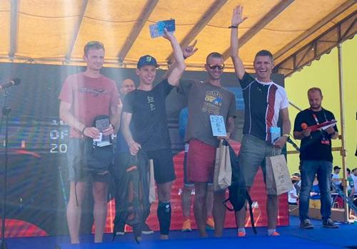 Калоян Чанев - трето място BLUE - 100 miles of Istria 2021